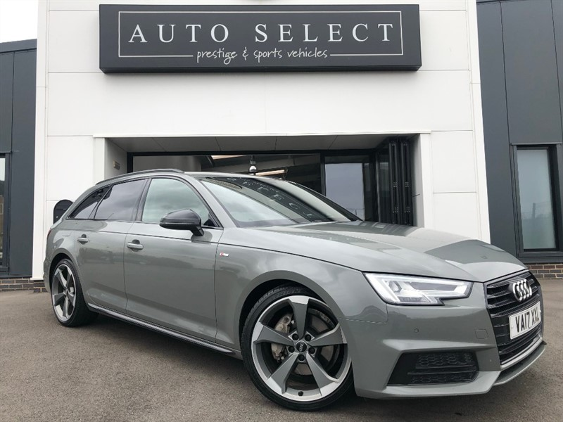 used Audi A4 AVANT 2.0 TDI S LINE BLACK EDITION STUNNING CAR!! in chesterfield