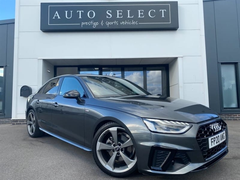used Audi A4 2.0 TFSI S LINE BLACK EDITION in chesterfield