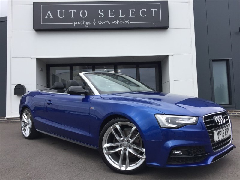 used Audi A5 2.0 TDI S LINE SPECIAL EDITION PLUS MASSIVE SPEC!! in chesterfield