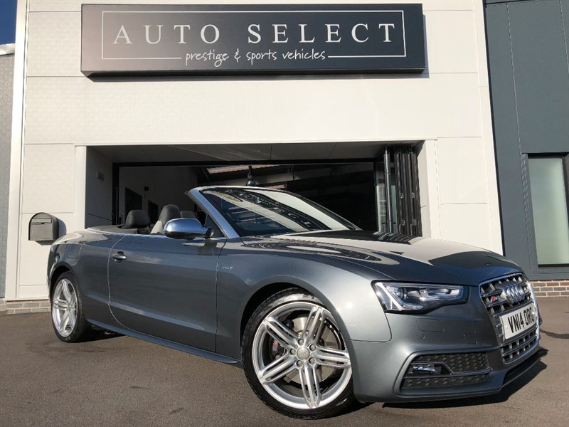 used Audi A5 S5 TFSI QUATTRO S/S in chesterfield