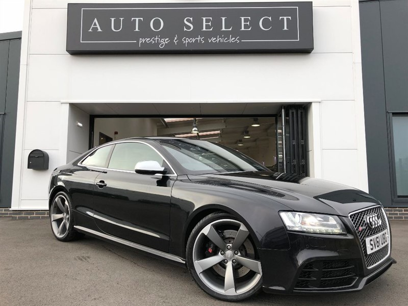 used Audi A5 RS5 4.2 V8 FSI QUATTRO FULL AUDI HISTORY!! in chesterfield