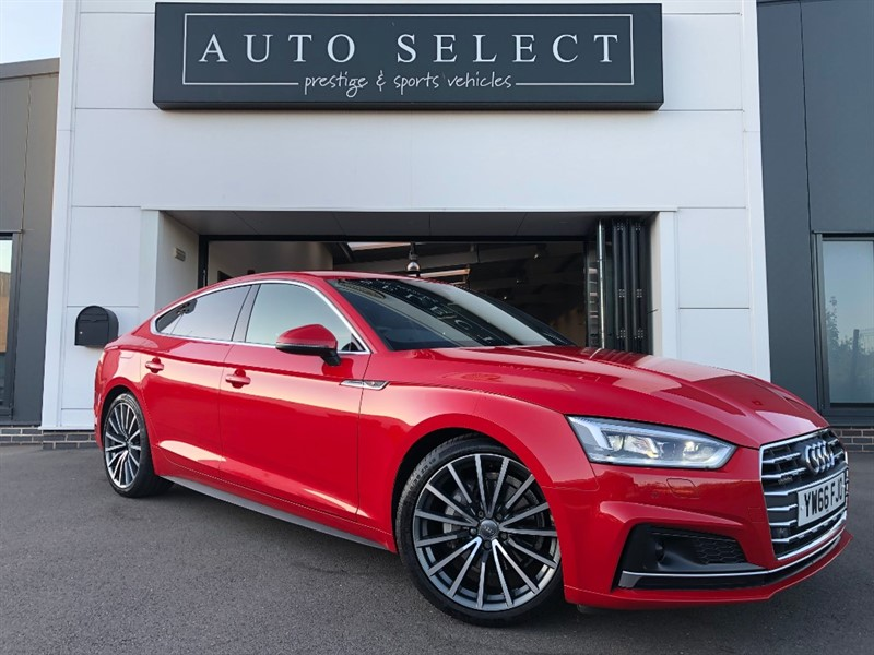 used Audi A5 SPORTBACK 2.0 TDI QUATTRO S LINE MASSIVE SPEC!! IMMACULATE!! in chesterfield