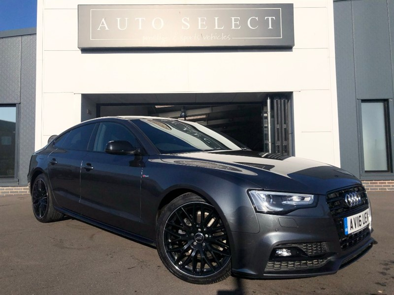 used Audi A5 2.0 TDI S LINE BLACK EDITION PLUS MASSIVE SPEC!! in chesterfield
