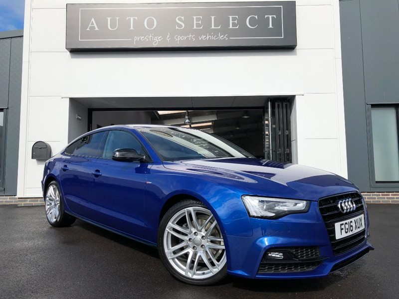 used Audi A5 2.0 TDI S LINE BLACK EDITION PLUS SPORT BACK 1 OWNER!! in chesterfield