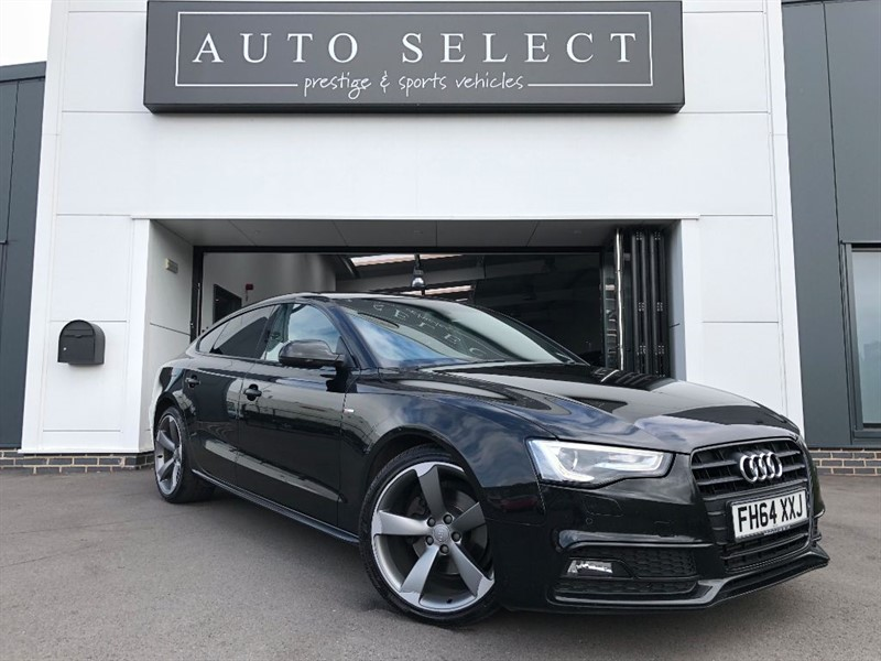 used Audi A5 SPORTBACK 2.0TDI S LINE BLACK EDITION PLUS 1 OWNER!! FASH!! in chesterfield