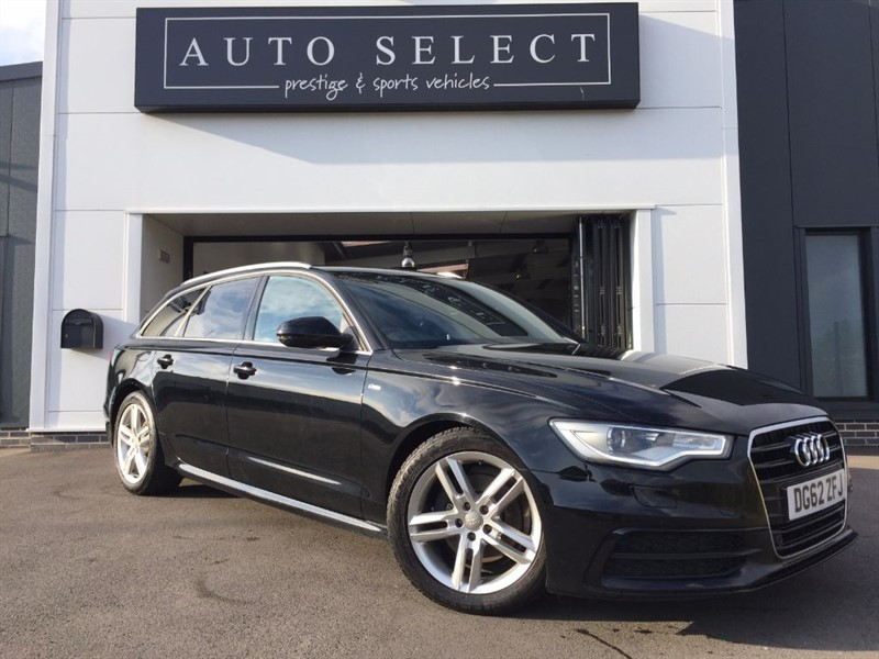 used Audi A6 Avant 2.0 TDI S LINE NAV & LEATHER!! FASH!! in chesterfield