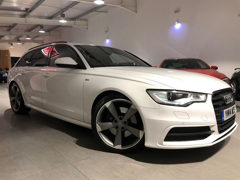 used Audi A6 Avant 3.0 TDI QUATTRO S LINE BLACK EDITION 1 OWNER!! HUGE SPEC!! in chesterfield