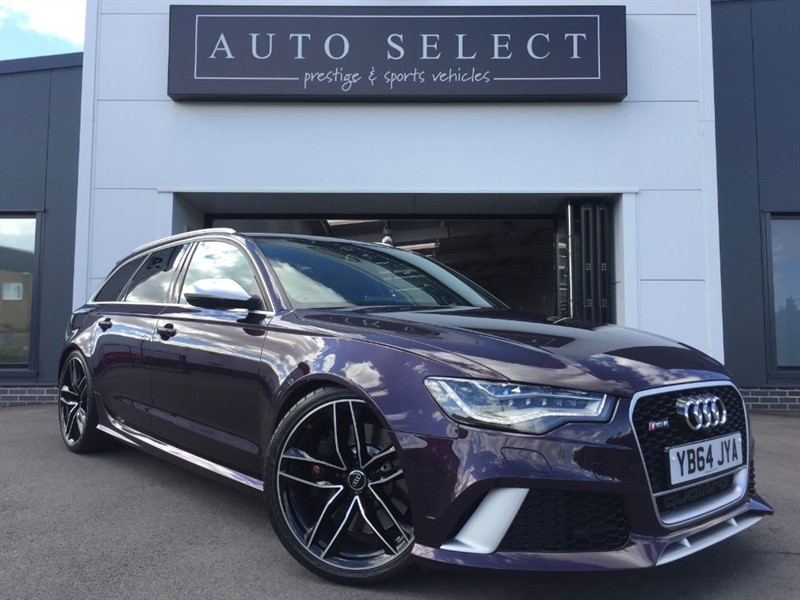 used Audi A6 RS6 AVANT TFSI V8 QUATTRO in chesterfield