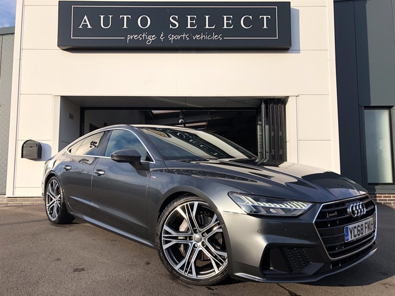 used Audi A7 50 SPORTBACK 3.0 TDI QUATTRO S LINE SOUND+COMFORT MONSTER SPEC!! in chesterfield