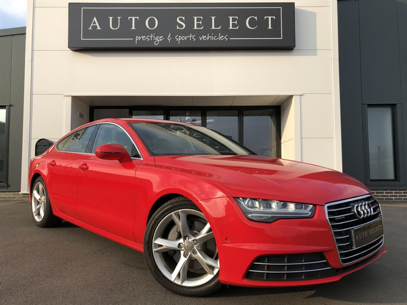 used Audi A7 SPORTBACK 3.0 TDI QUATTRO SE EXECUTIVE IMMACULATE!! in chesterfield