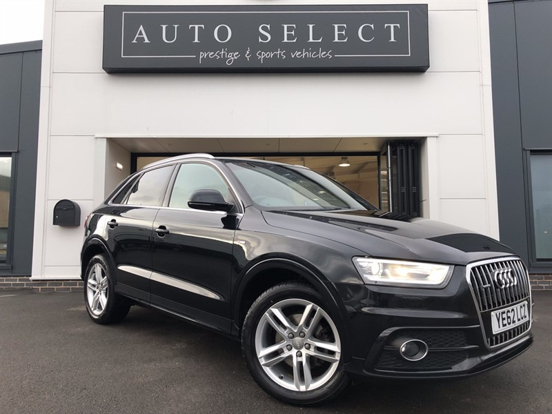 used Audi Q3 2.0 TFSI QUATTRO S LINE NAVIGATION STUNNING CAR!! in chesterfield