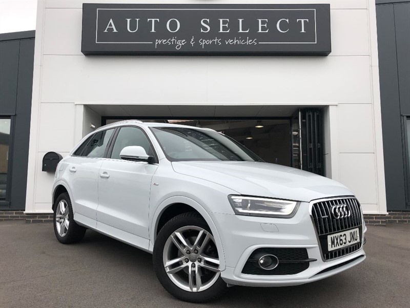 used Audi Q3 2.0 TDI QUATTRO S LINE NAVIGATION 1 OWNER!! FASH!! in chesterfield