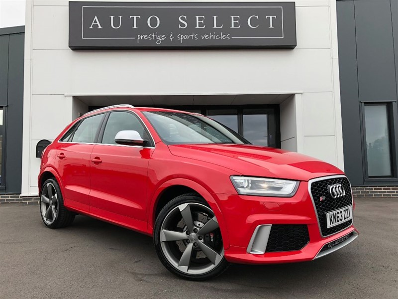 used Audi Q3 RSQ3 TFSI 2.5 QUATTRO IMMACULATE!! in chesterfield