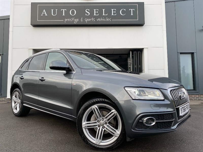 used Audi Q5 2.0 TDI QUATTRO S LINE PLUS 1 OWNER!! FASH!! in chesterfield