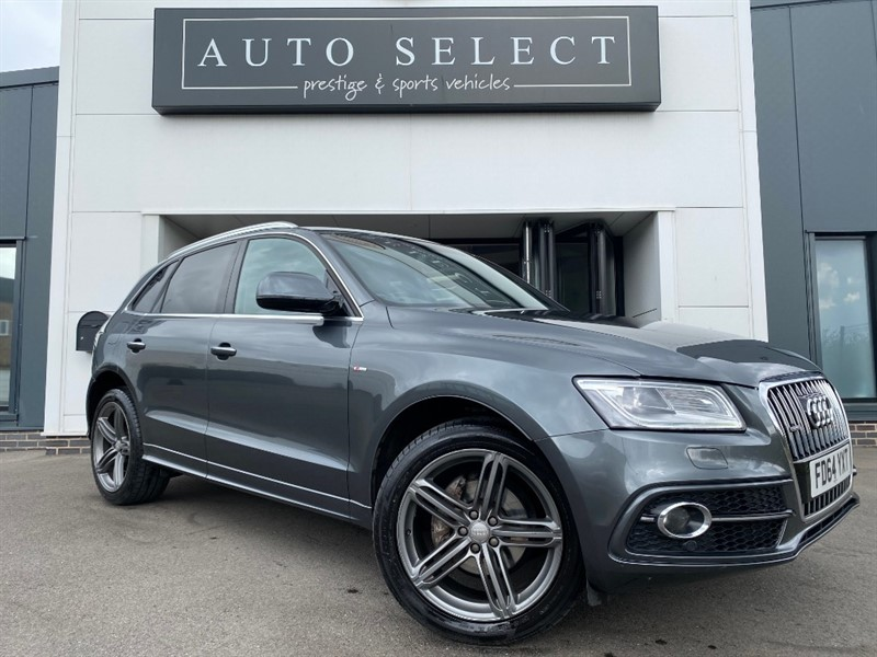 used Audi Q5 2.0 TDI QUATTRO S LINE PLUS IMMACULATE!! in chesterfield