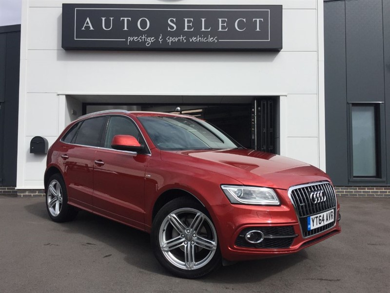 used Audi Q5 2.O TDI QUATTRO S LINE PLUS 1 OWNER!! in chesterfield