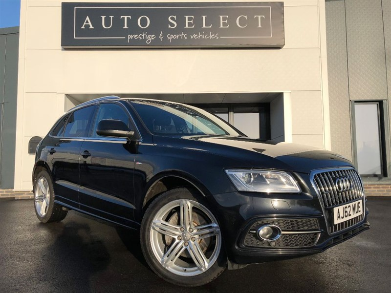 used Audi Q5 3.0 TDI QUATTRO S LINE PLUS 1 COMPANY DIRECTOR OWNER!! in chesterfield