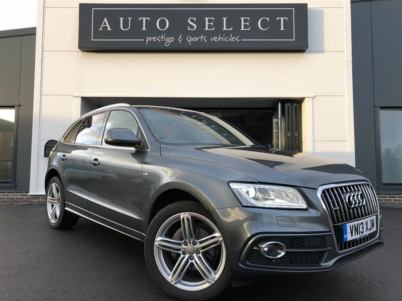used Audi Q5 2.0 TDI QUATTRO S LINE PLUS S/S FASH!! in chesterfield