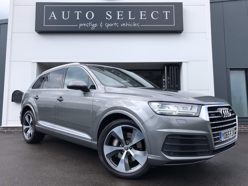 used Audi Q7 3.O TDI QUATTRO S LINE MONSTER SPEC!! PAN ROOF!! 1 OWNER!! in chesterfield