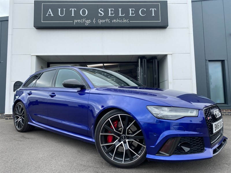 used Audi RS6 PERFORMANCE AVANT 4.0 TFSI QUATTRO MONSTER SPEC!! in chesterfield