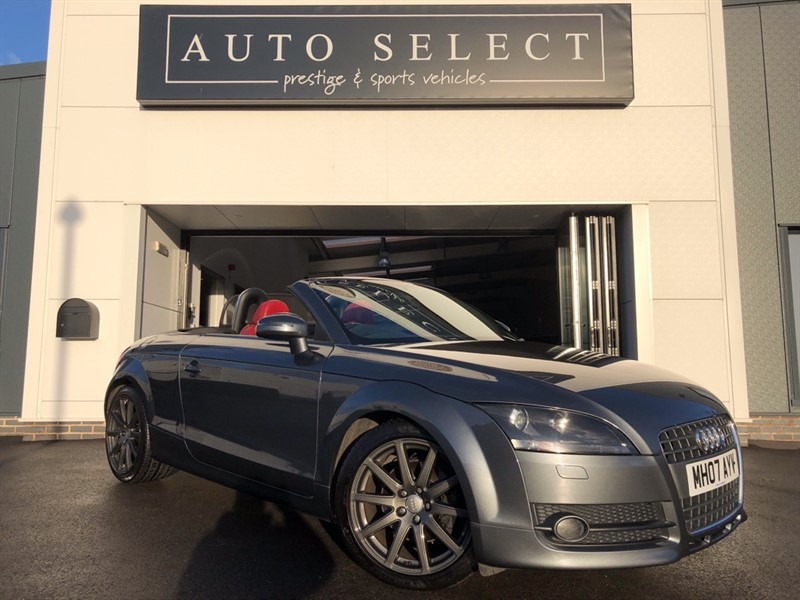 used Audi TT 2.0 TFSI CONVERTIBLE STUNNING CAR!! MASSIVE SPEC!! in chesterfield