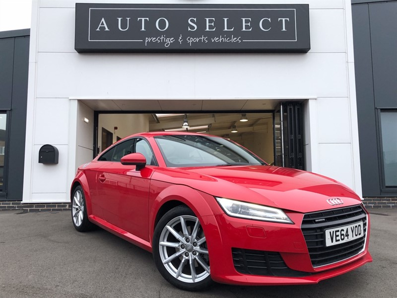 used Audi TT 2.0 TFSI QUATTRO SPORT LOW MILES!! IMMACULATE!! in chesterfield