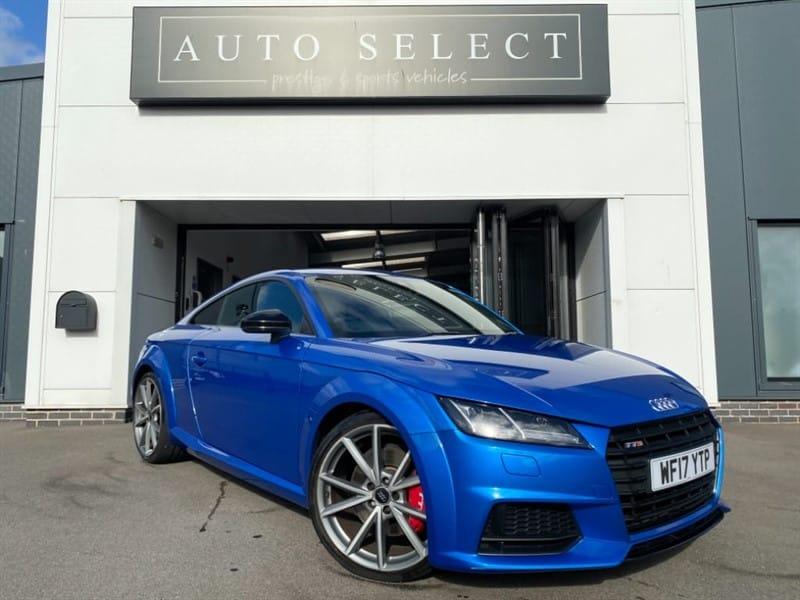 used Audi TT TTS TFSI QUATTRO BLACK EDITION HUGE SPEC!! in chesterfield