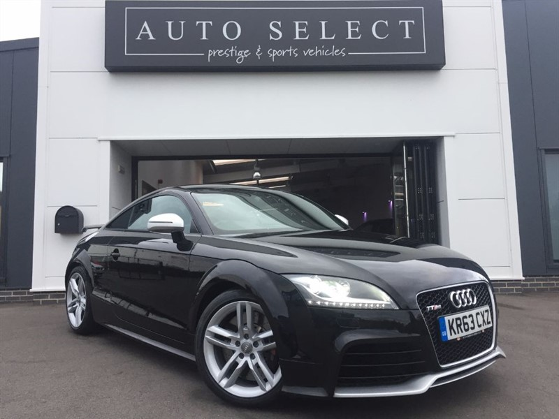 used Audi TT RS 2.5 TFSI QUATTRO FASH LOW MILES in chesterfield