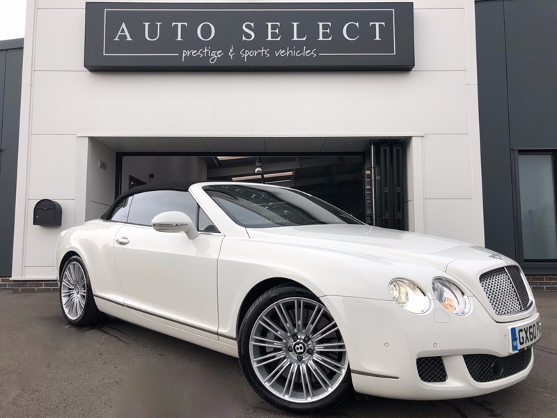 used Bentley Continental 6.0 GTC SPEED CONVERTIBLE IMMACULATE!! in chesterfield