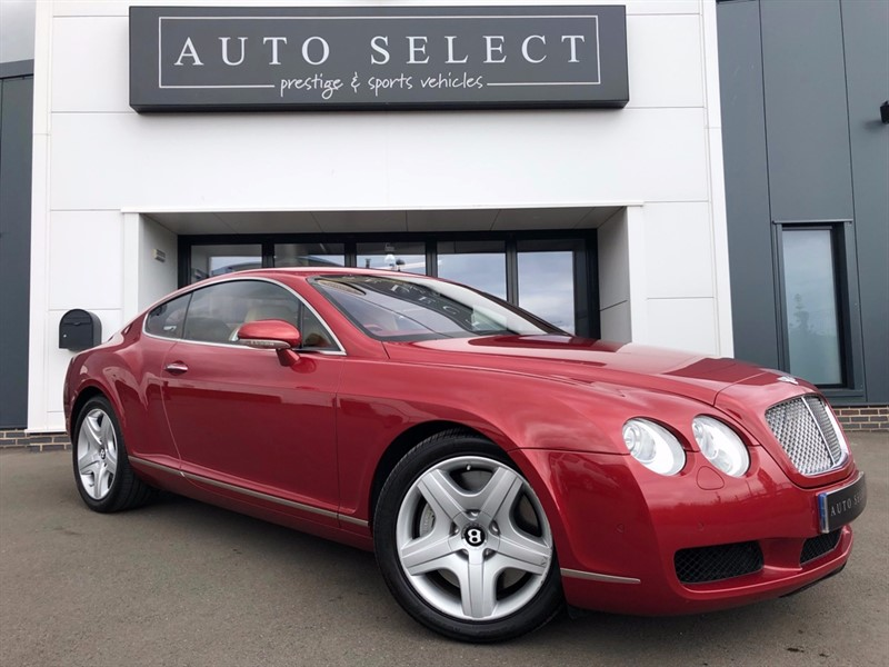 used Bentley Continental 6.0 GT W12 FULL BENTLEY HISTORY!! IMMACULATE!! in chesterfield
