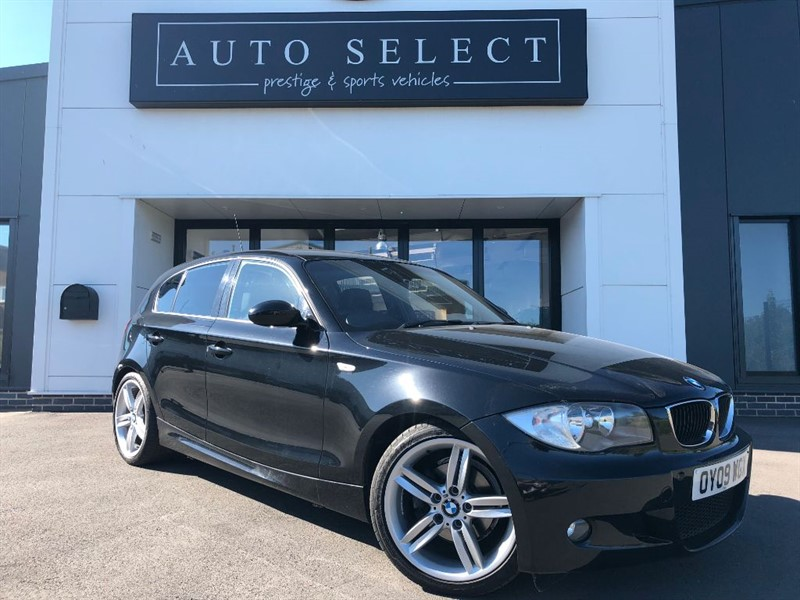 used BMW 118d M SPORT in chesterfield