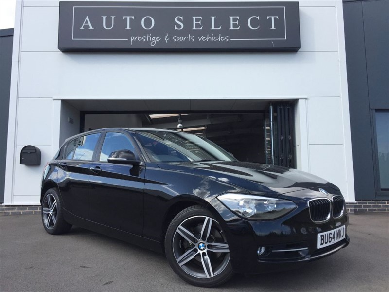 used BMW 120d 2.0d XDRIVE 4X4 SPORT 1 OWNER!! in chesterfield
