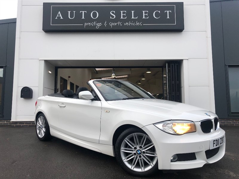 used BMW 118i 2.0I M SPORT CONVERTIBLE ABSOLUTLEY IMMACULATE!! in chesterfield