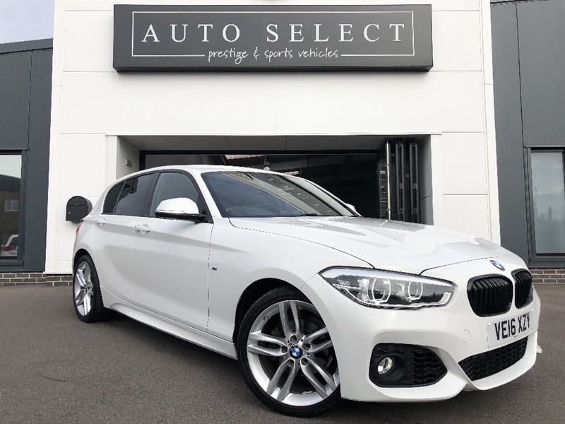 used BMW 118i 1.5I M SPORT AUTO NAVIGATION in chesterfield