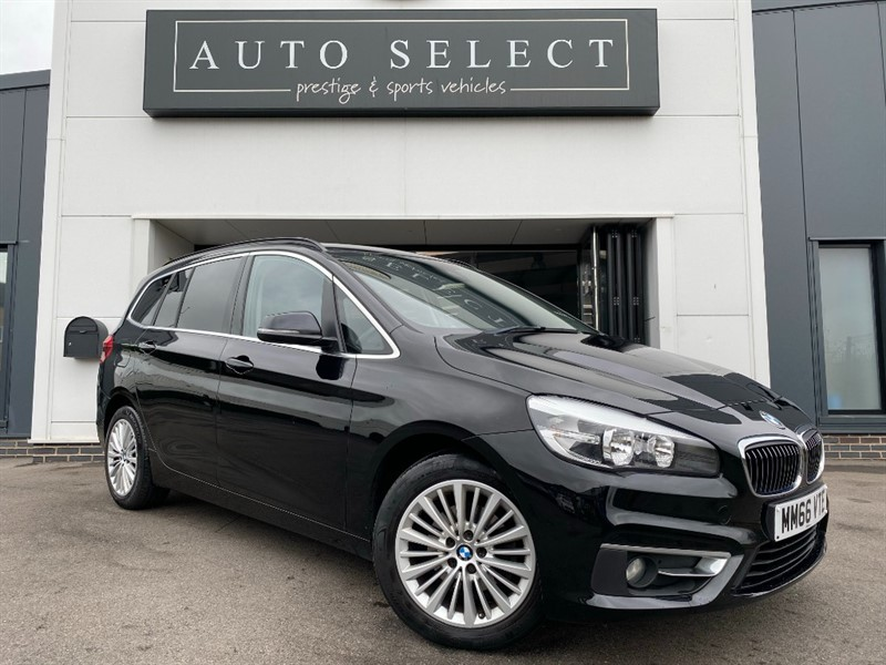 used BMW 216d 1.5D LUXURY GRAN TOURER NAV ONLY �20 TAX!!1 OWNER!! in chesterfield