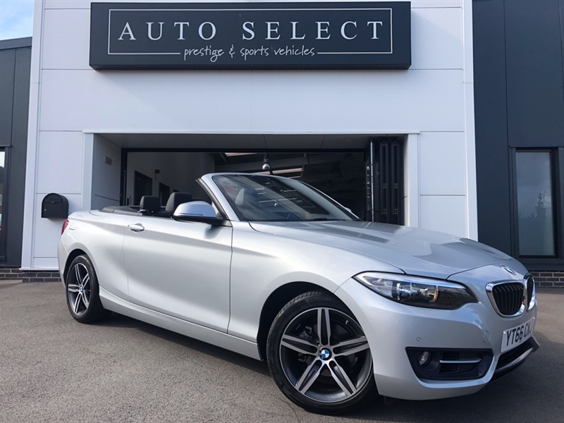 used BMW 218i 1.5 SPORT AUTO NAVIGATION ABSOLUTELY IMMACULATE!! in chesterfield