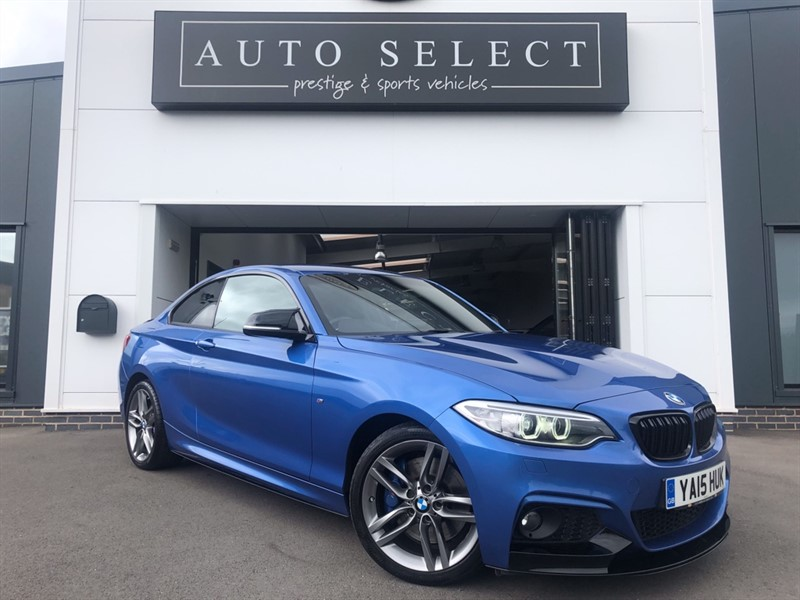 used BMW 220d 2.0d XDRIVE M SPORT NAV!! HUGE SPEC!! 4X4 STUNNING CAR!! in chesterfield
