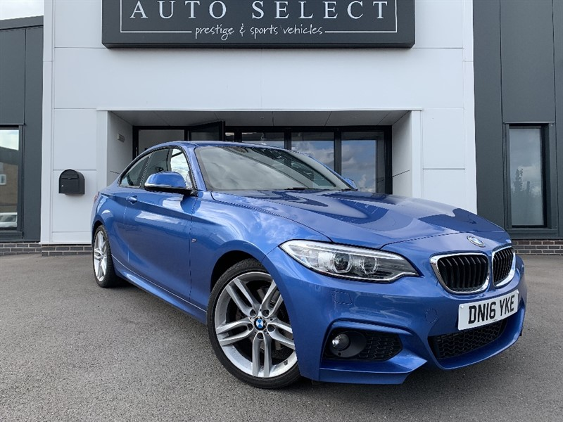 used BMW 220d 2.0d M SPORT NAVIGATION!! ONLY �20 TAX!! in chesterfield