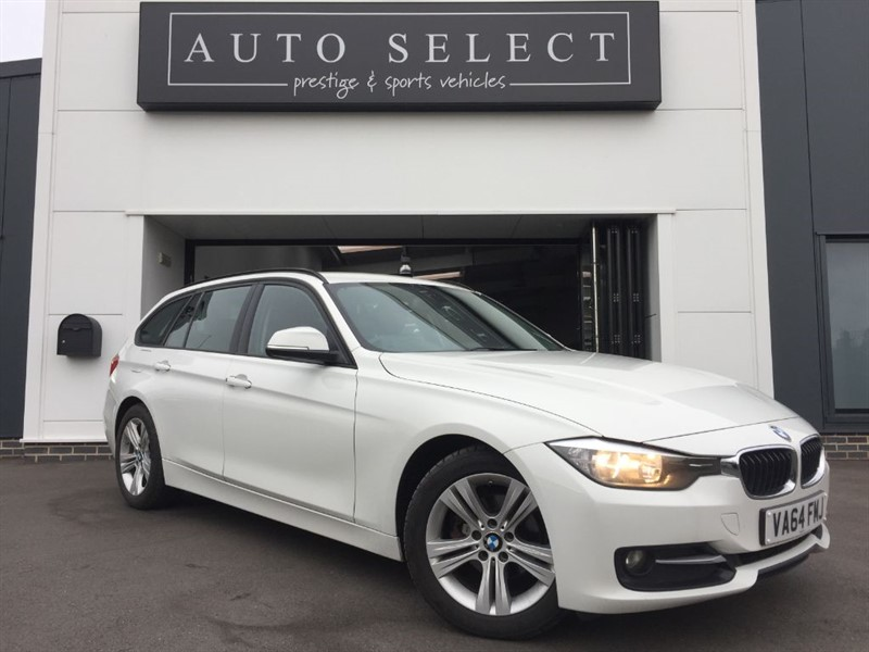 used BMW 318d 2.0d M SPORT TOURING FBMWSH!! STUNNING!! in chesterfield