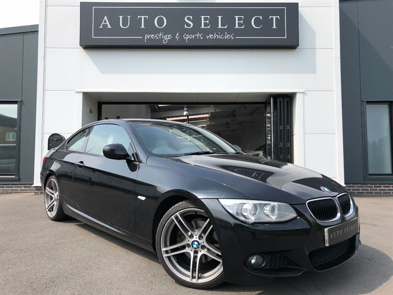 used BMW 320d 2.0d M SPORT COUPE AUTO MASSIVE SPEC!! in chesterfield