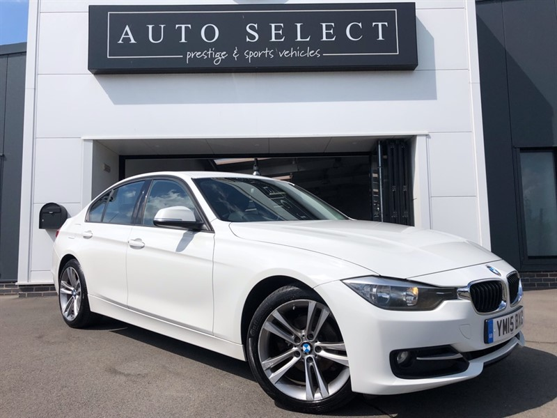 used BMW 318d 2.0d SPORT �30 YEAR TAX!! FBMWSH!! in chesterfield