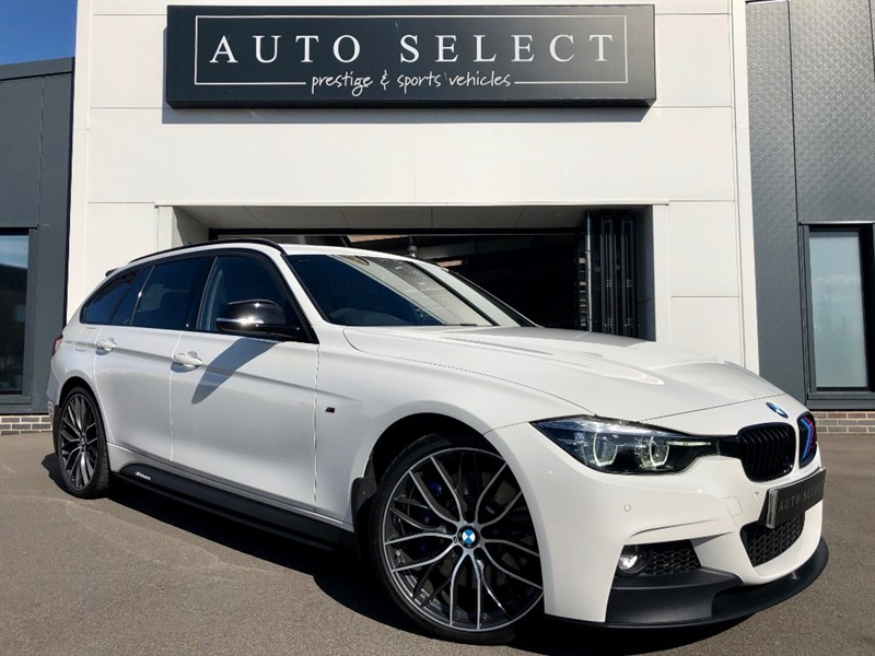 used BMW 335d XDRIVE M SPORT SHADOW EDITION TOURING MONSTER SPEC!! in chesterfield