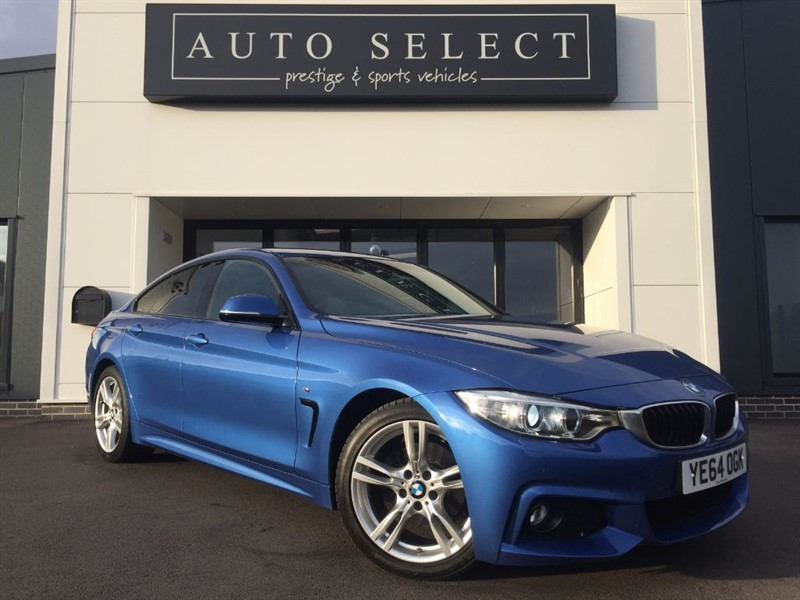 used BMW 420d 2.0d M SPORT GRAN COUPE PROFESSIONAL NAV!! 1 OWNER!! in chesterfield