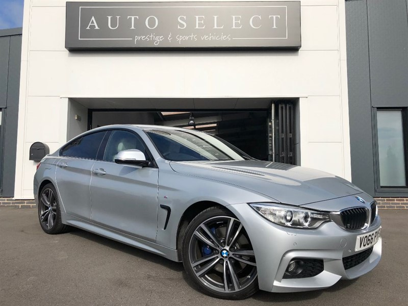 used BMW 420d 2.0D M SPORT GRAN COUPE MONSTER SPEC!!  in chesterfield