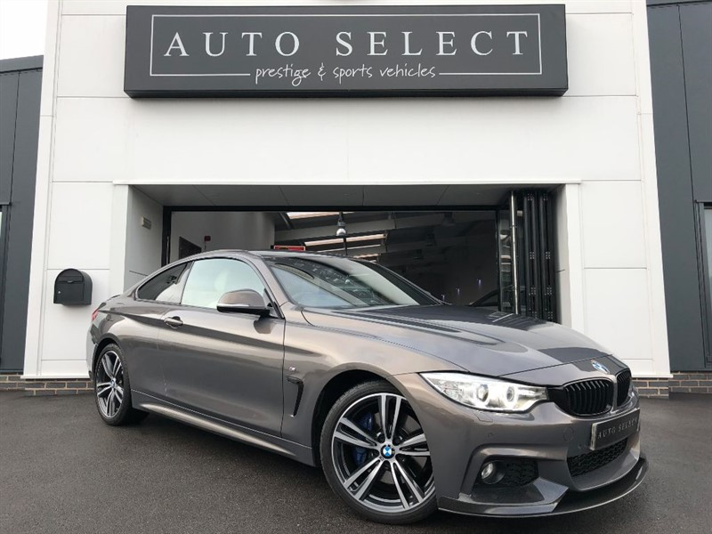 used BMW 420d 2.0d M SPORT PLUS PACK WITH CARBON KIT!! STUNNING!! in chesterfield
