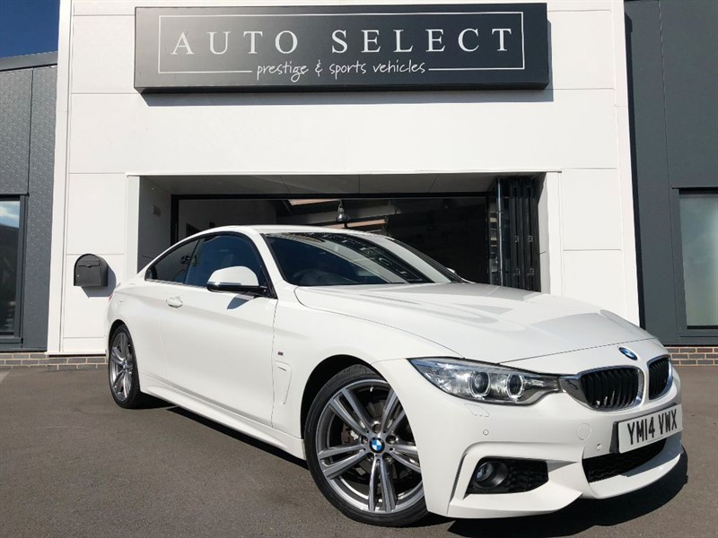 used BMW 428i 2.0 M SPORT ABSOLUTLEY STUNNING CAR!! 1 OWNER!! in chesterfield