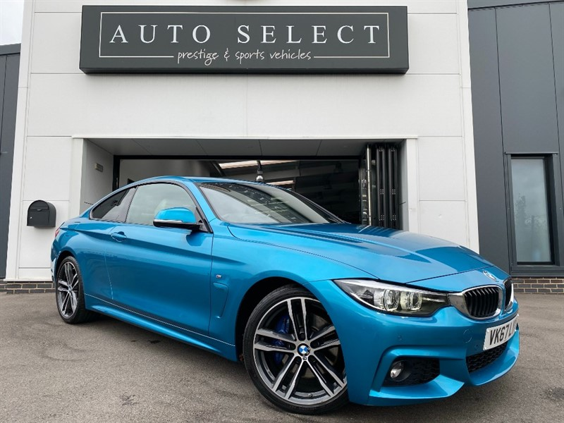 used BMW 420d 2.0dM SPORT NAV STUNNING CAR!! 1 OWNER!1 FBMWSH!! in chesterfield