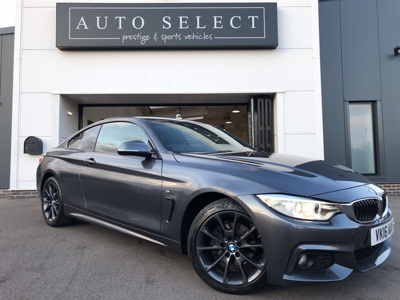 used BMW 420i 2.0i XDRIVE M SPORT 1 OWNER!! MASSIVE SPEC!! in chesterfield