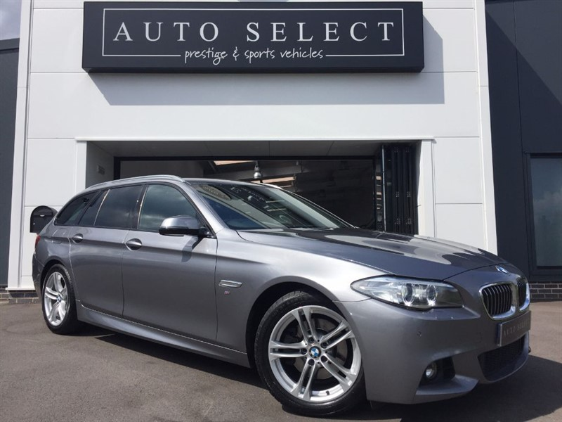 used BMW 520d 2.0d M SPORT TOURING MASSIVE SPEC!! PRO NAV!! in chesterfield