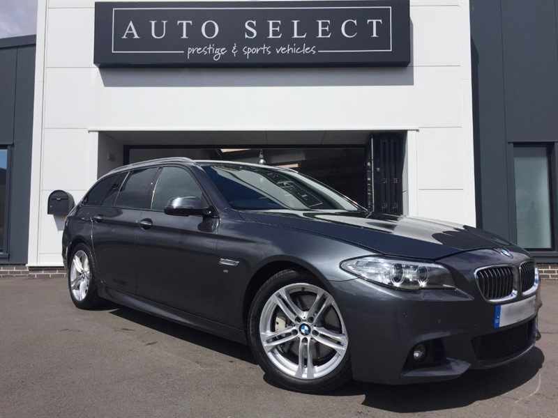 used BMW 525d 2.0d M SPORT TOURING WIDE SCREEN PRO NAV!! in chesterfield